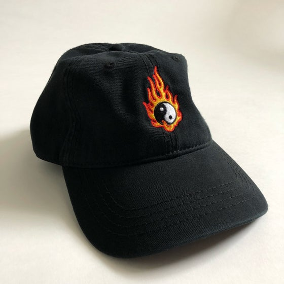 Image of YIN & YANG DAD HAT