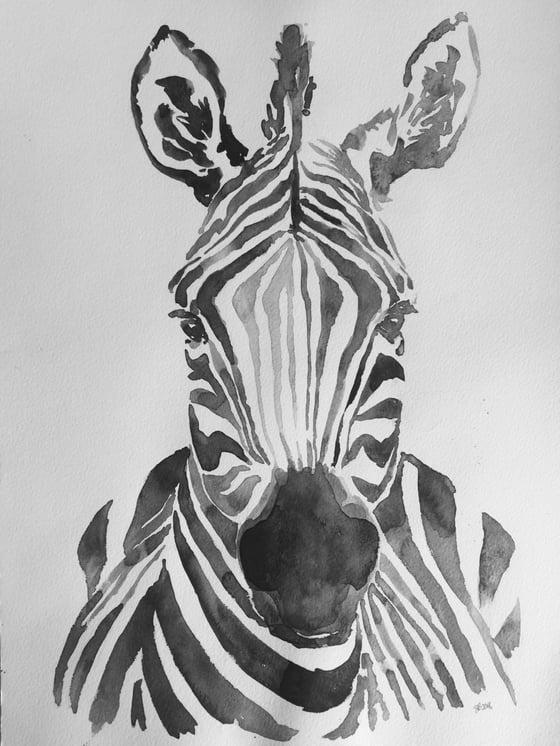"""Image of Lámina """"cebra"""" - Print """"cebra"""""""