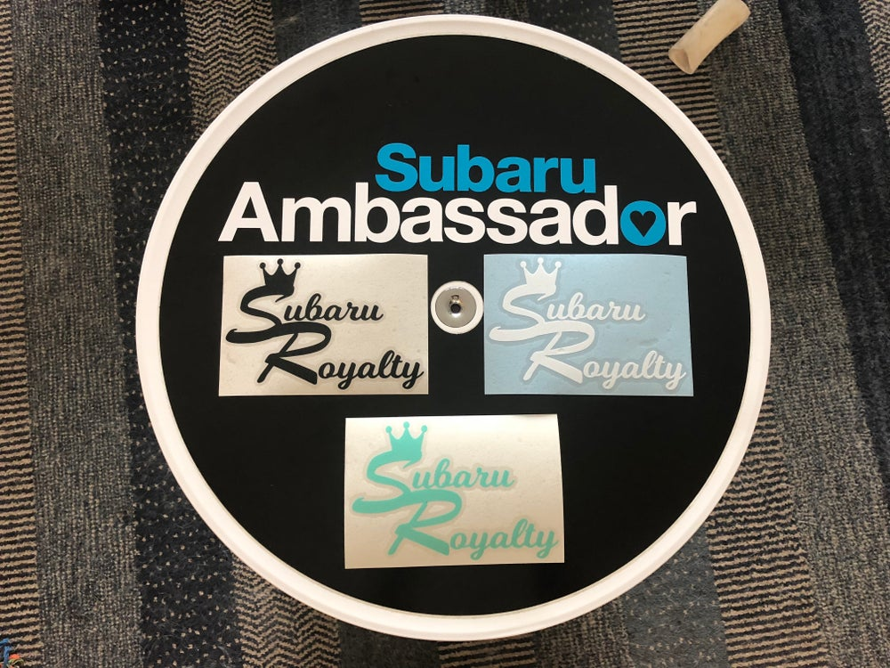 Image of Subaru Royalty sticker
