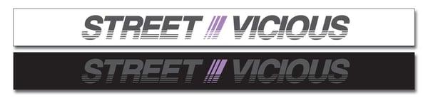 Image of Street Vicious 90s Japan Sun Strip - Violet