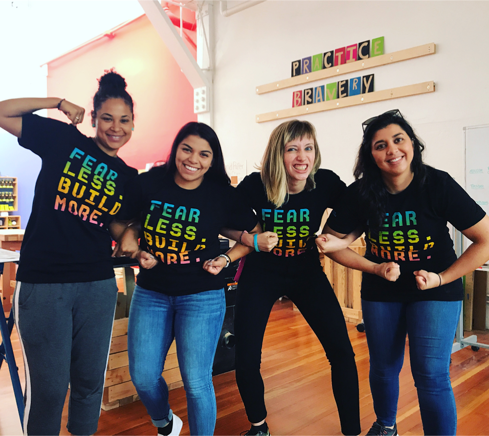 Image of Limited Edition Fear Less Build More Rainbow T-Shirt