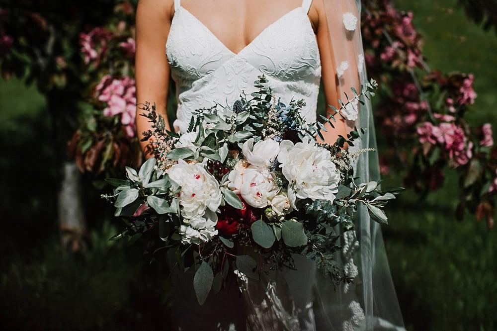 "Image of Bridal Bouquet ""Alaska Bride"""