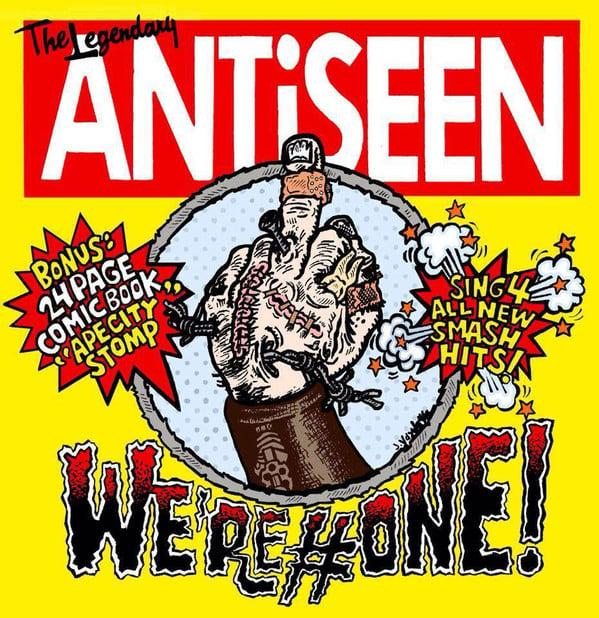 "ANTiSEEN - ""We're #1!"" 12"" EP w/Comic Book"