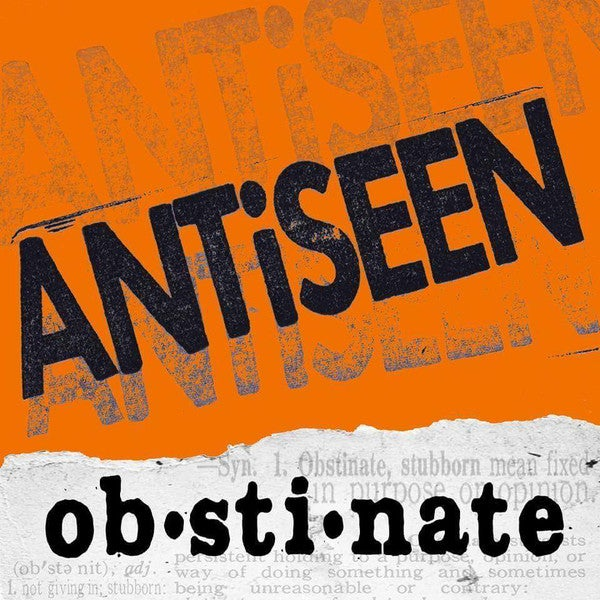 "ANTiSEEN - ""Obstinate"" LP w/Poster"