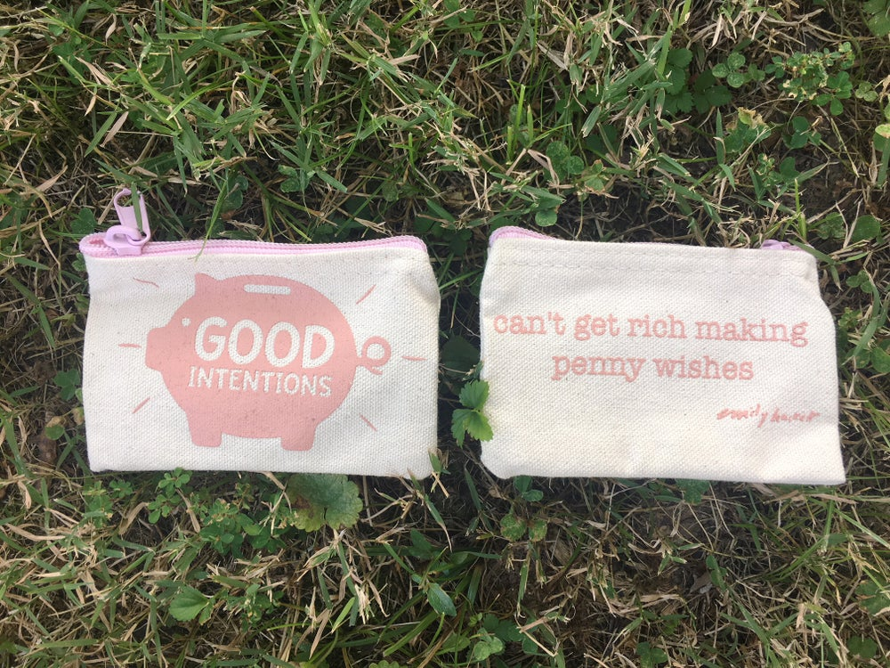 Image of Good Intentions Penny Pouch