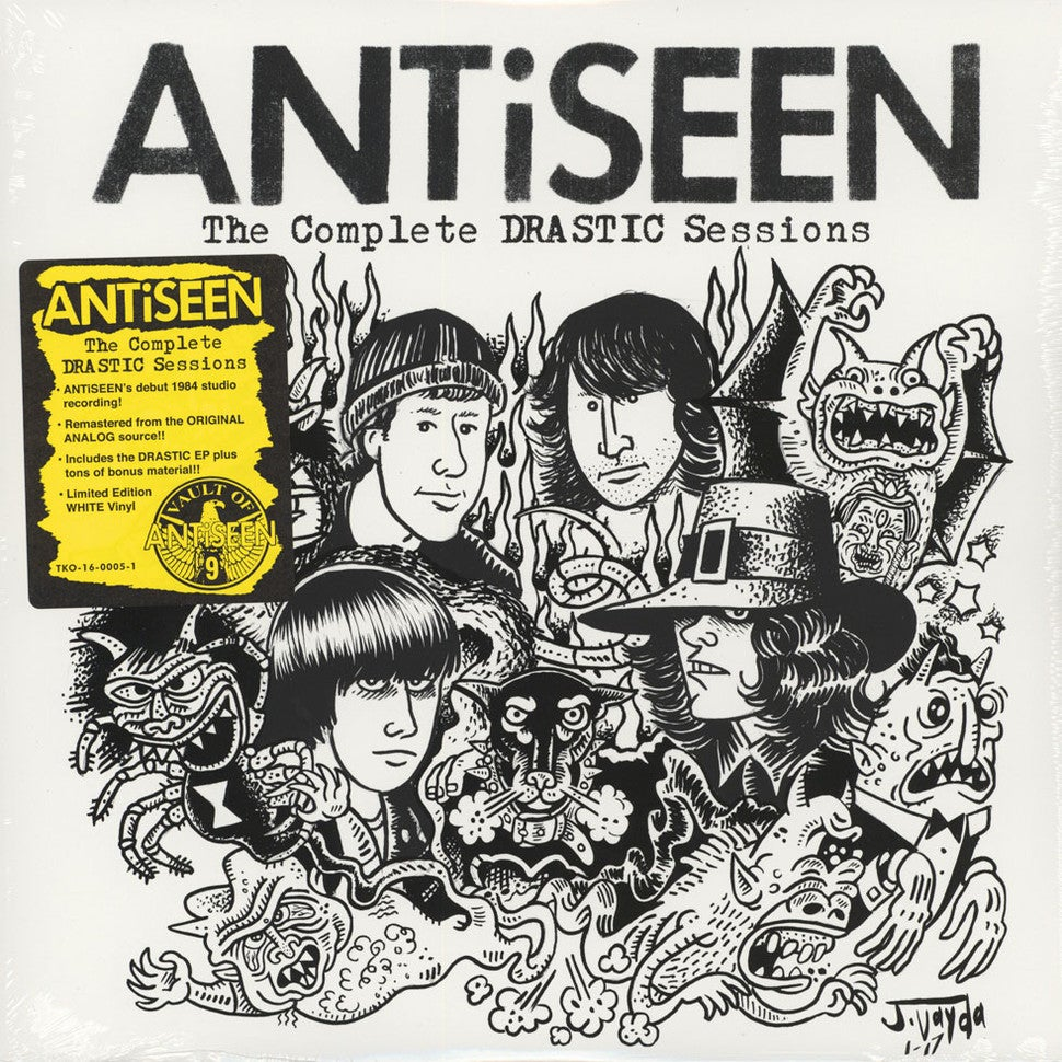 "Image of ANTiSEEN - ""The Complete DRASTIC Sessions"" LP"
