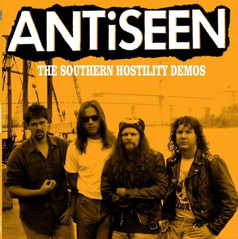 "Image of ANTiSEEN - ""The Southern Hostility Demos"" LP"
