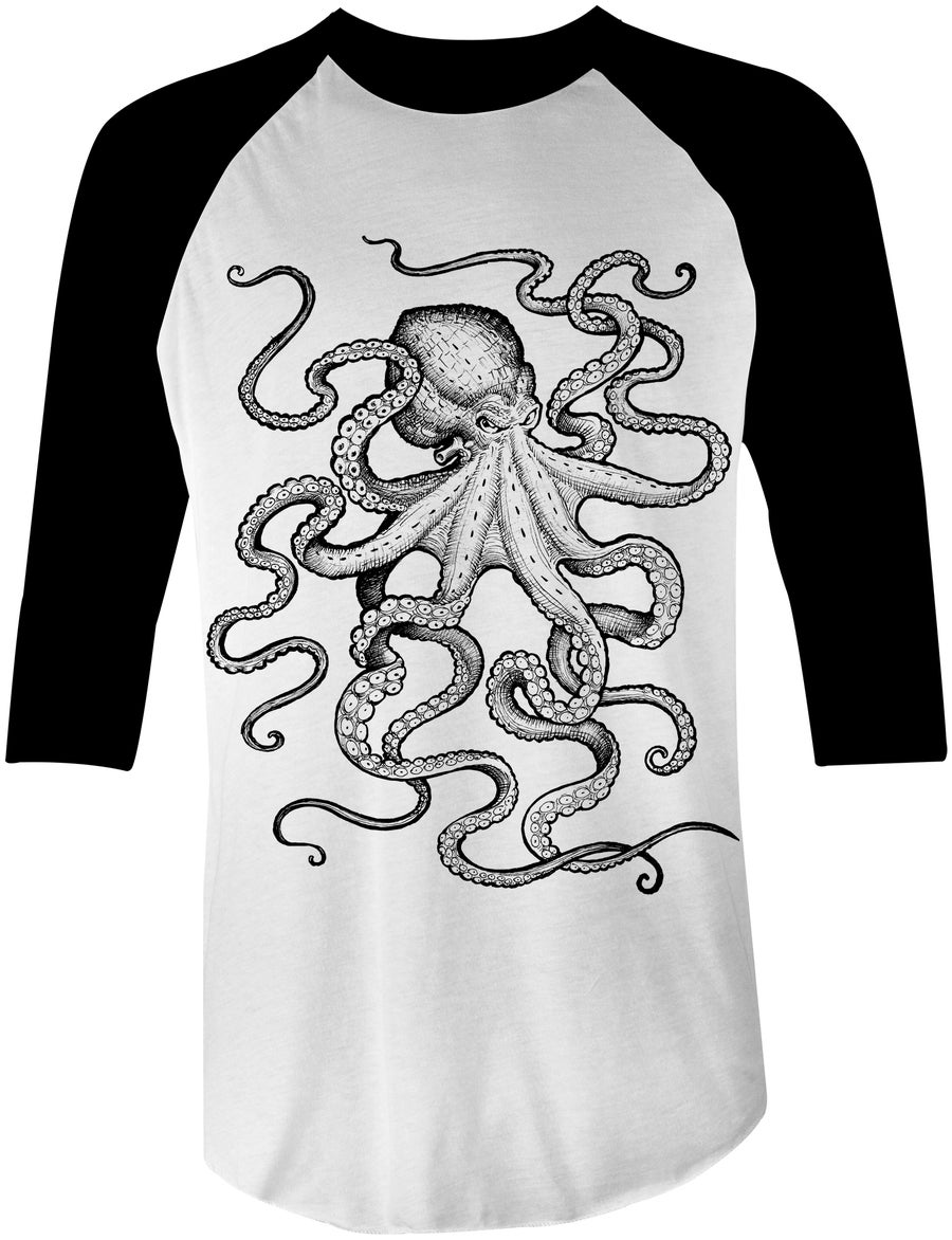 Image of Octopus Baseball Tee