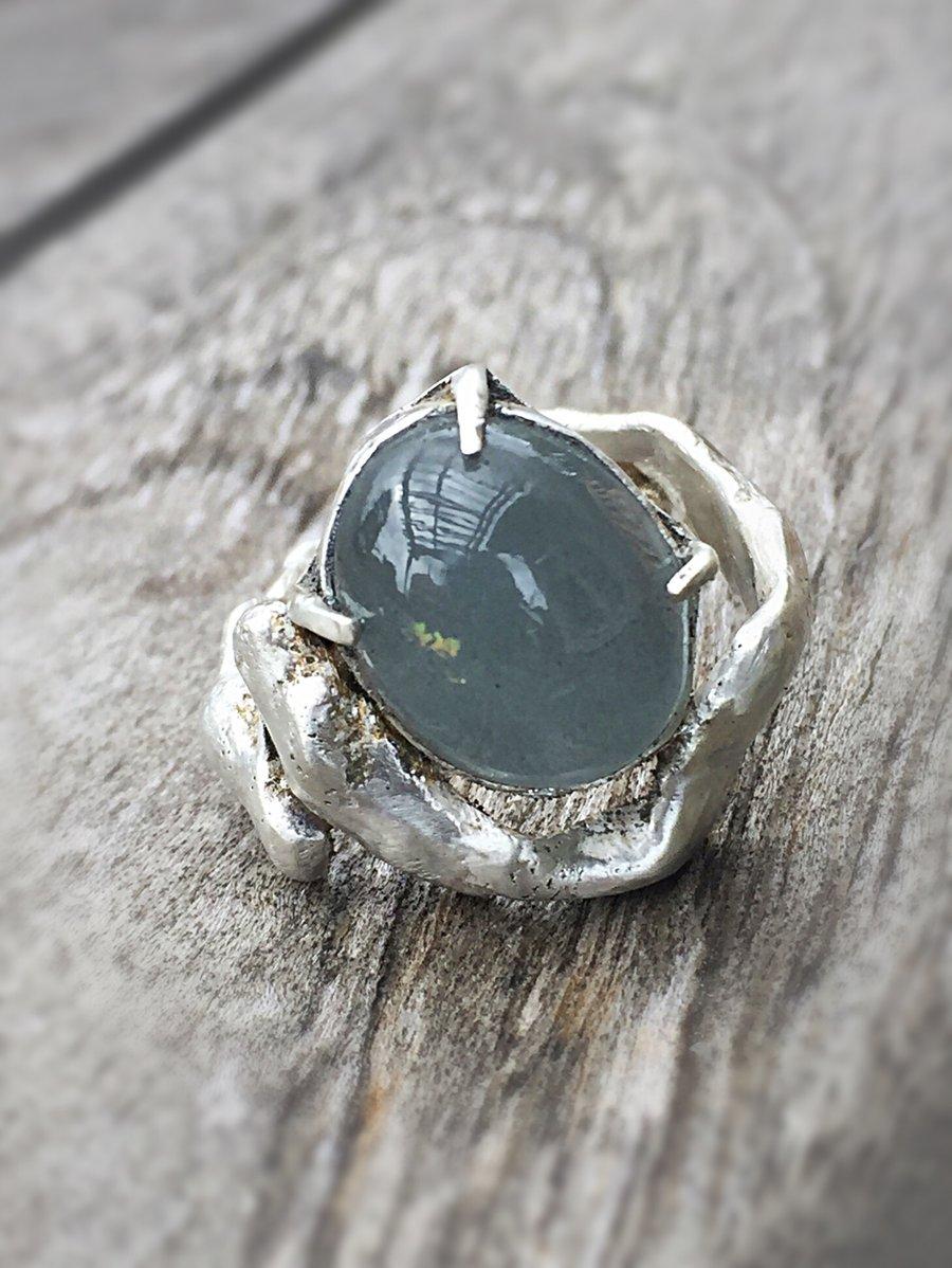 Image of Rustic aquamarine
