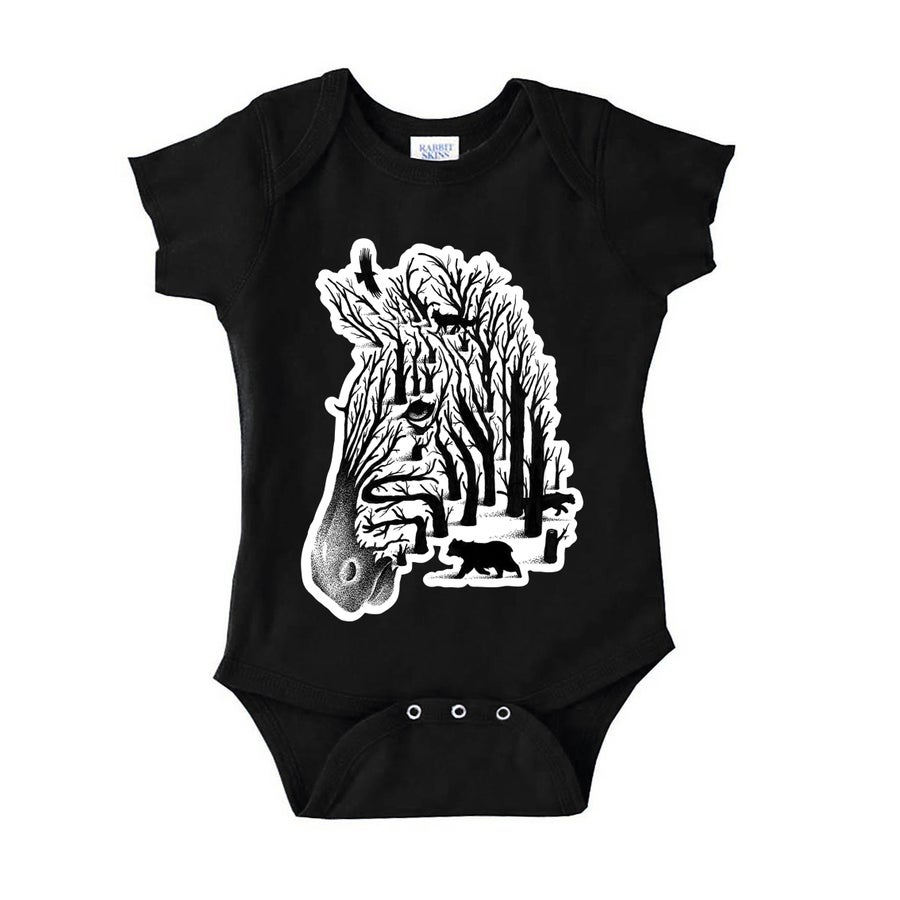 Image of Hidden Animals Onesie