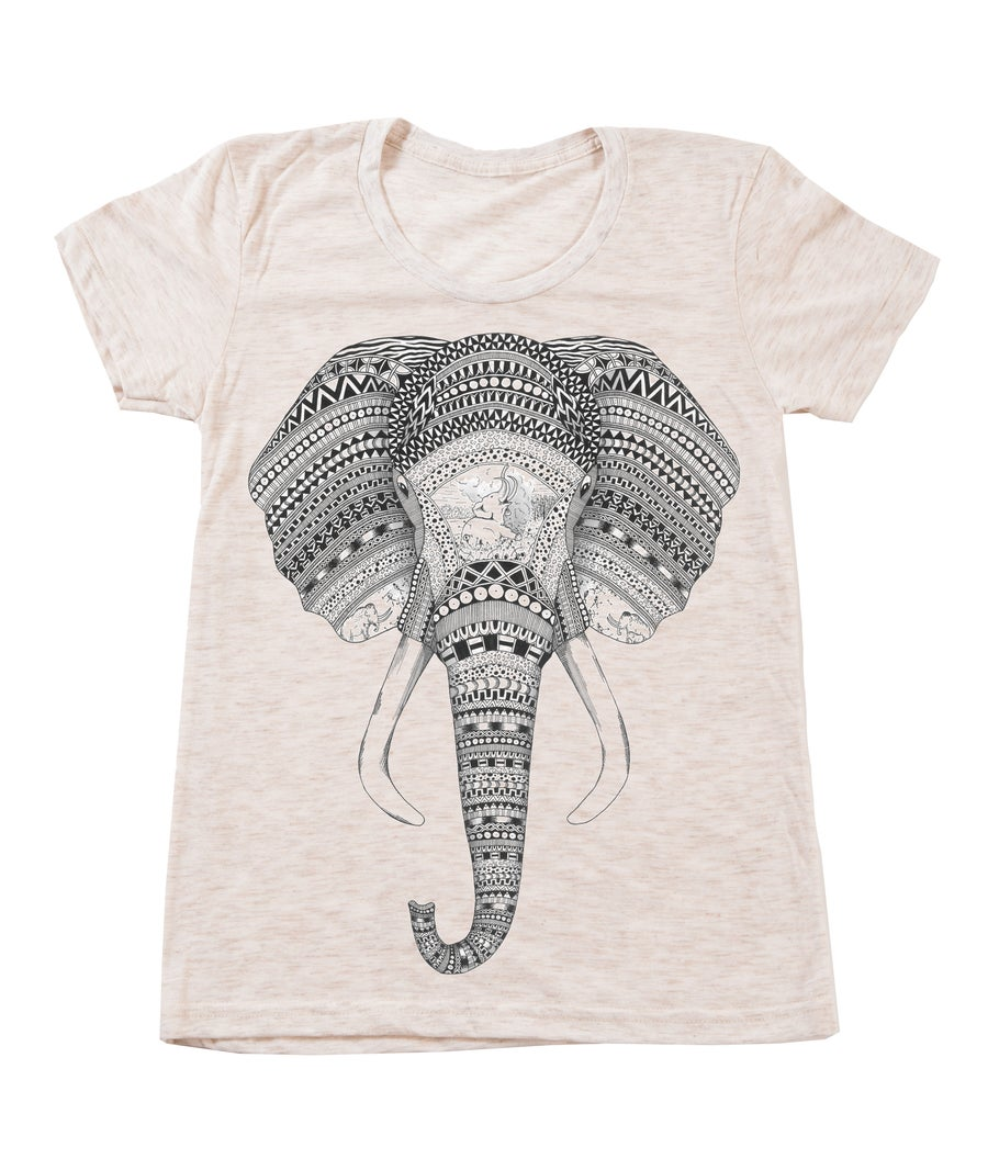 Image of Ladies Elephant Tee