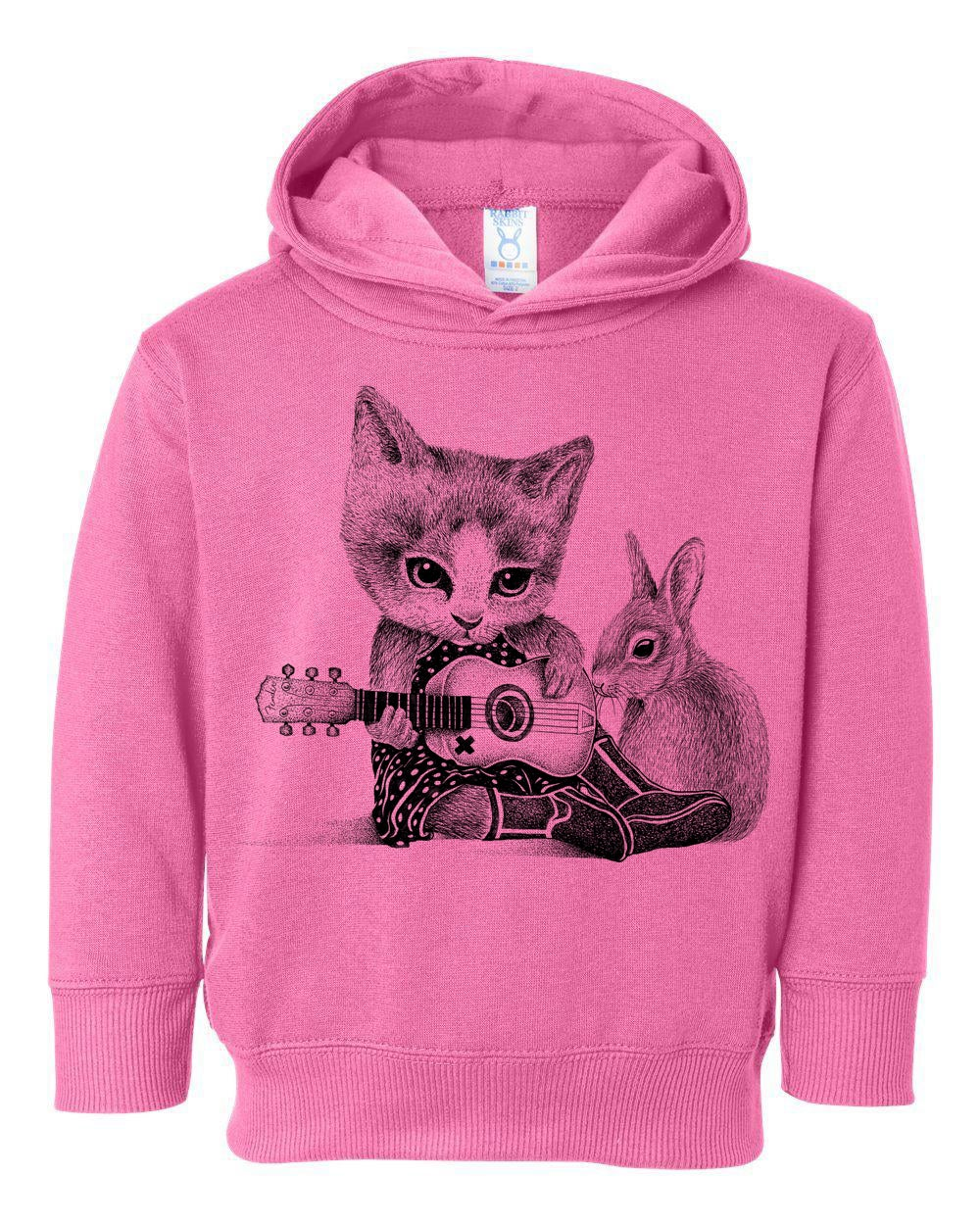 Image of Johnny Cat Toddler Hoodie