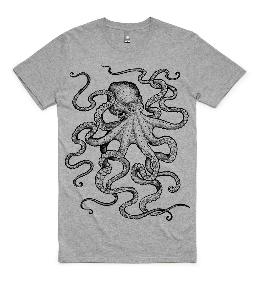 Image of Grey Octo Tee