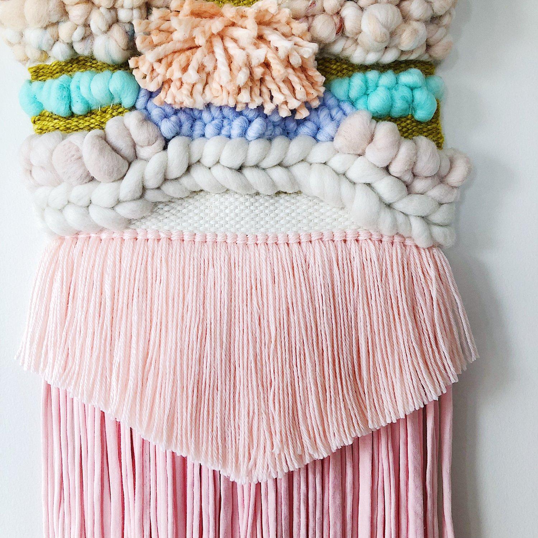 Image of Woven Wall Hanging - Unicorn Dust
