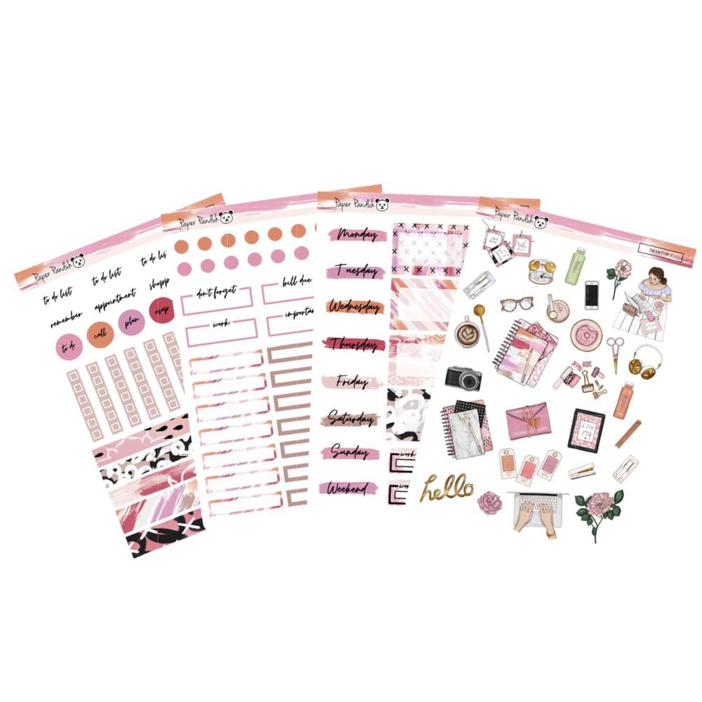 Image of Planner Girl Desktop Sticker Kit