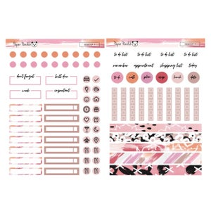 Image of Planner Girl Desktop Sticker Kit