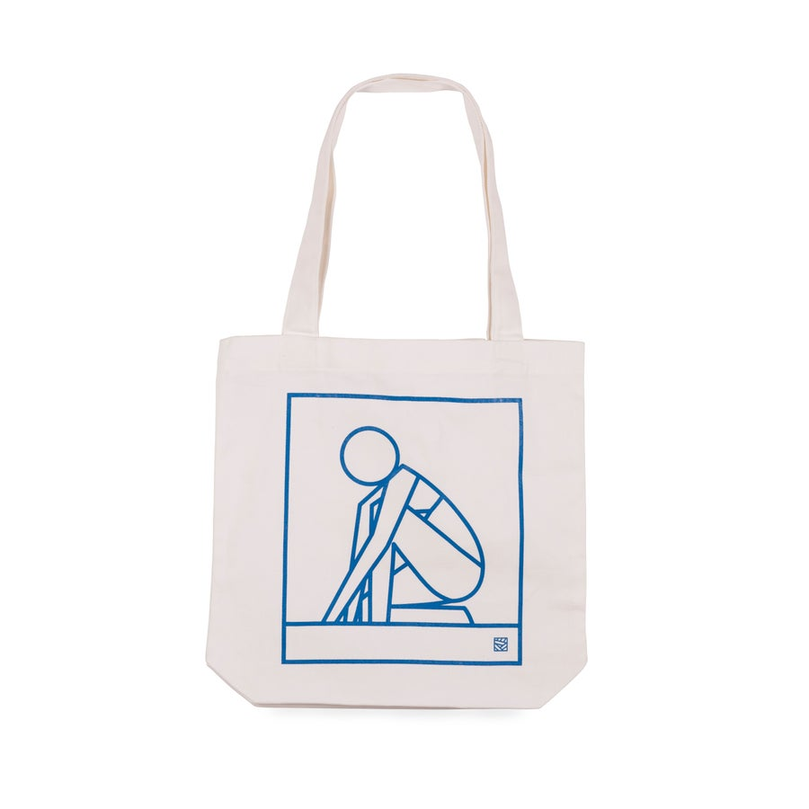 Image of TODAY WE ESCAPE Heavy Duty Carry Tote COLOUR CREAM