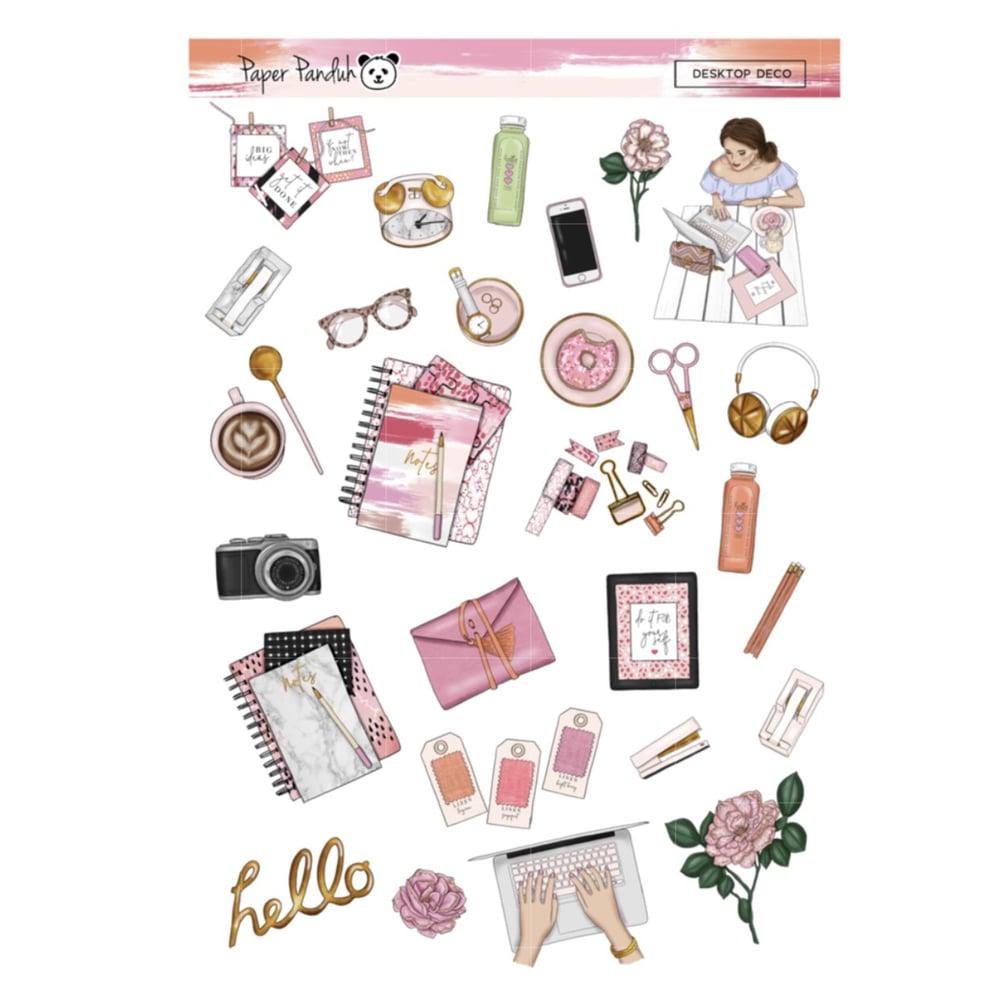 Image of Planner Girl Desktop Deco Sheet