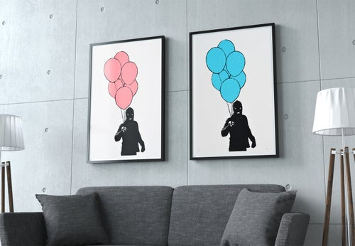Image of PLAY - The Balloon man (blue)