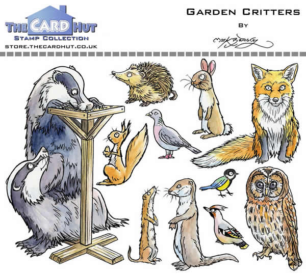 Image of Garden Critters - Stamp Set