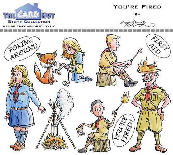Image of You're Fired - Stamp Set