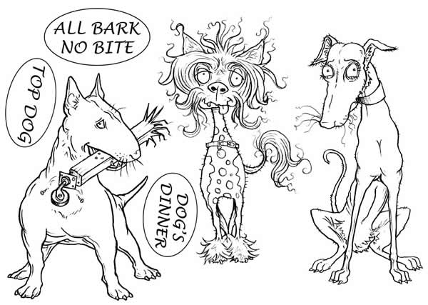 Image of All Bark No Bite - Stamp Set