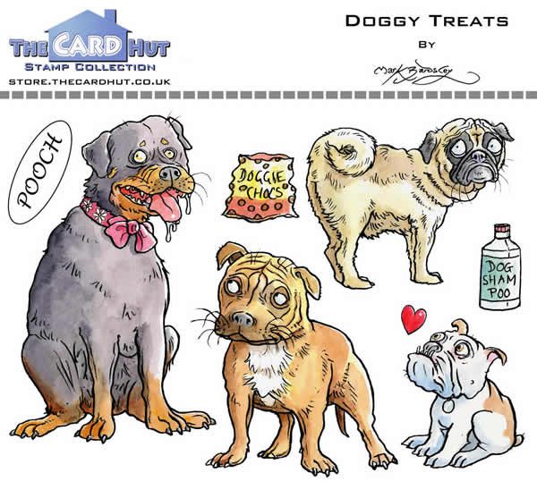 Image of Doggy Treats - Stamp Set