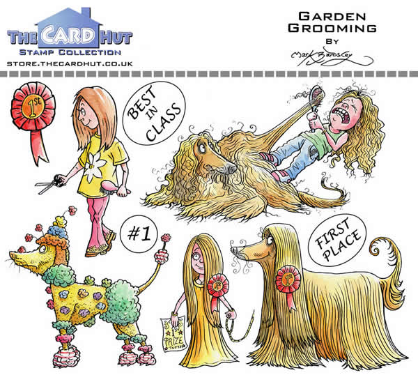 Image of Garden Grooming - Stamp Set