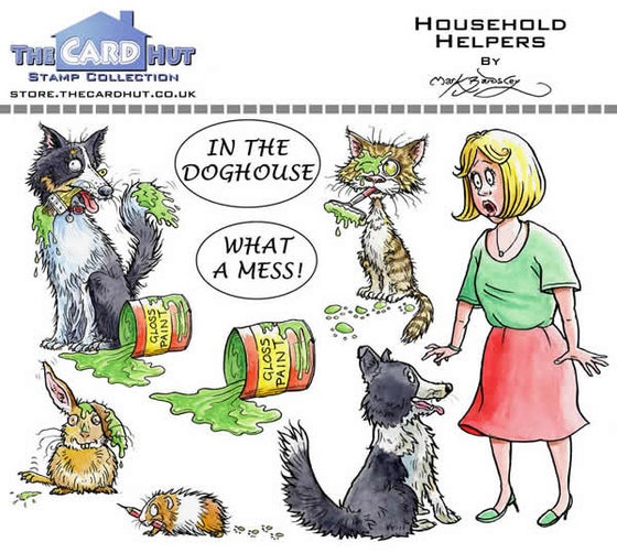 Image of Household Helpers - Stamp Set