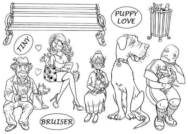 Image of Puppy Love - Stamp Set