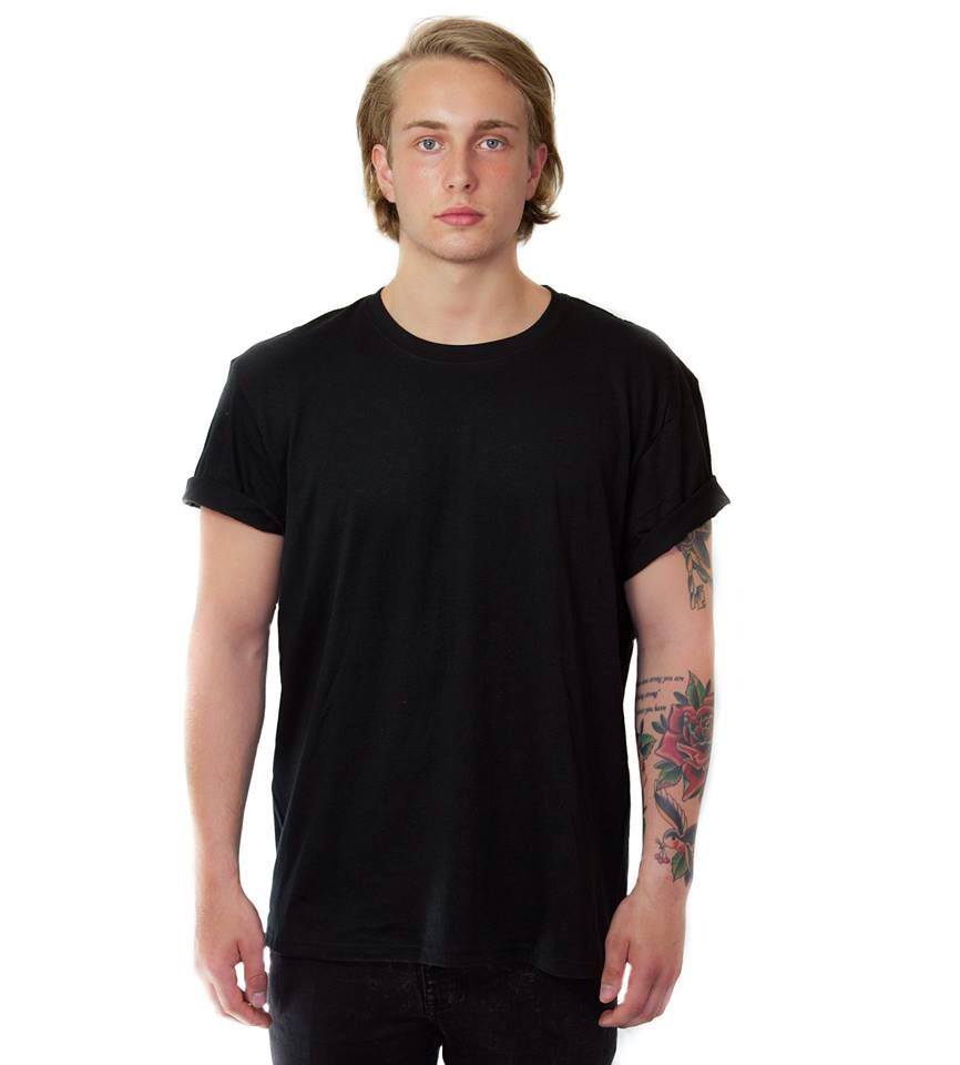 Image of Basic Black T-shirt