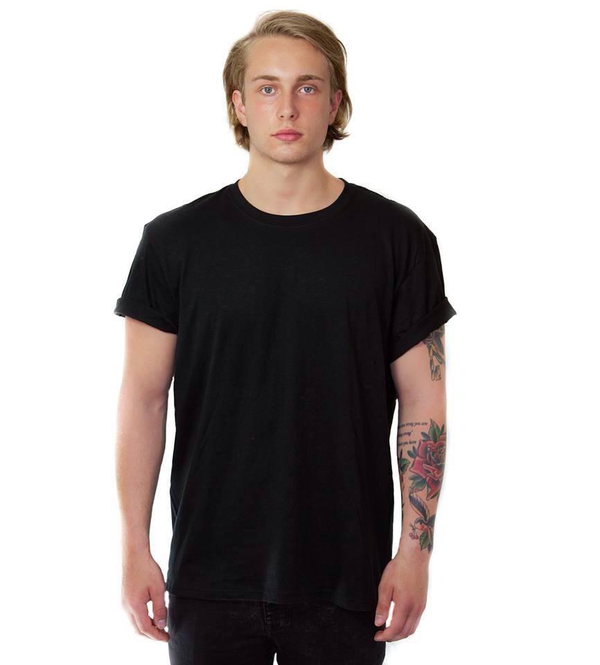 Image of Basic Black T-shirt