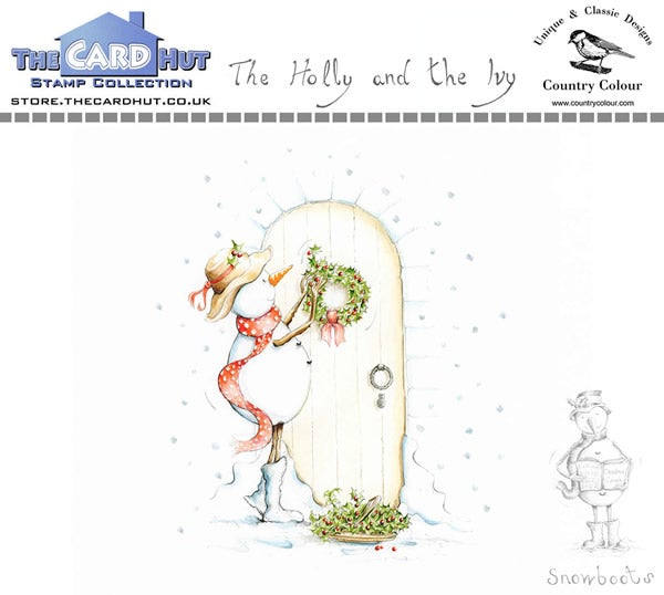 Image of The Holly and the Ivy - Stamp Set