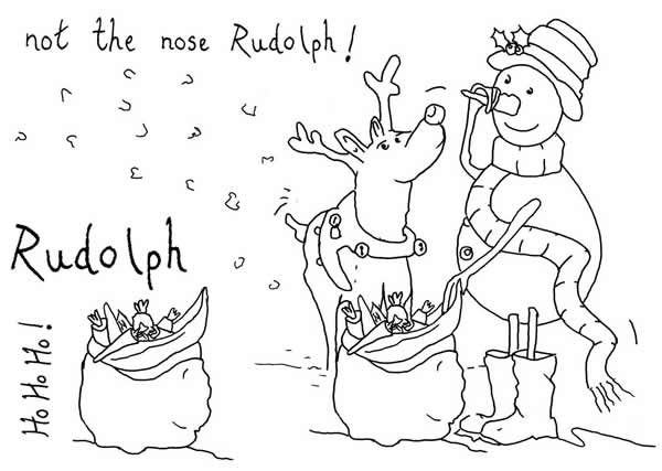 Not the Nose Rudolph