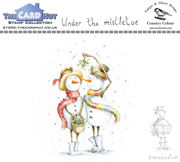 Image of Under the Mistletoe - Stamp Set