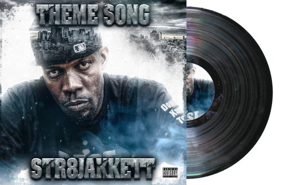 "Image of Str8 Jakkett - theme Song 7"" Vinyl"