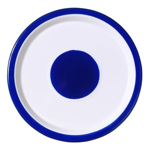 Image of Small Plate cobalt blue