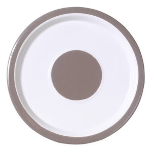 Image of Small Plate pearl grey