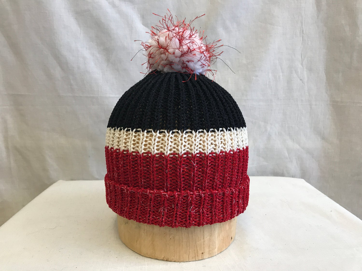 Image of 3 Section Knit Cap