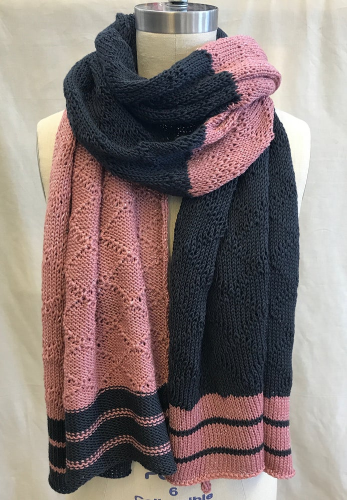 Image of Colorblock Tuck Scarf