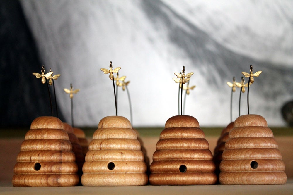 Image of Wooden Bee Skep