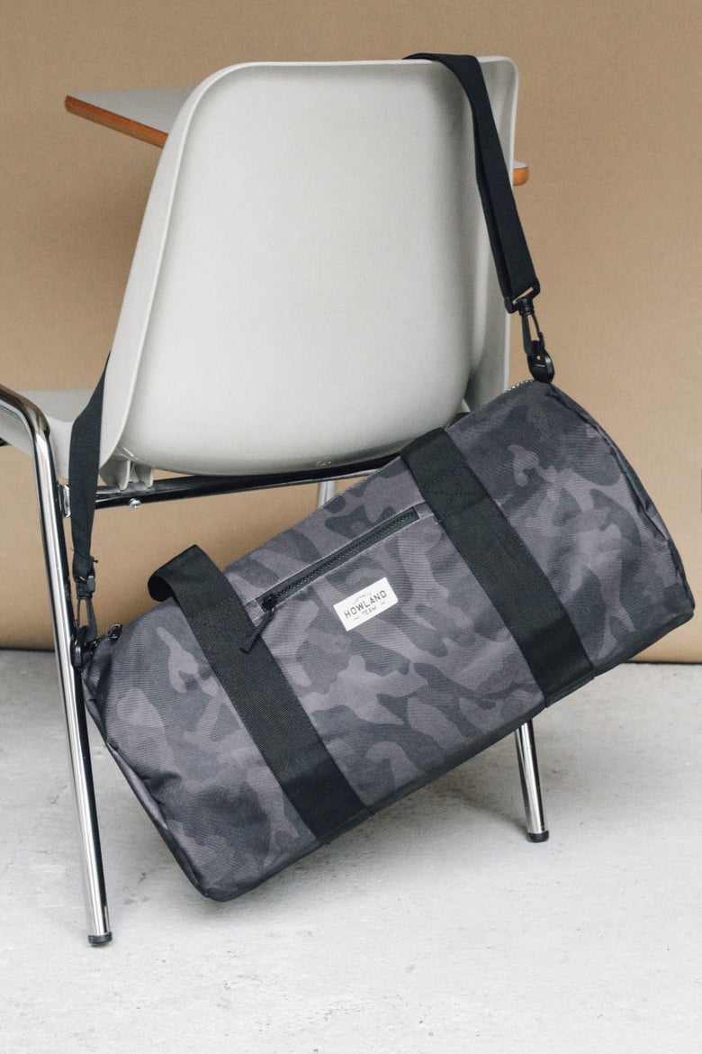 Image of CAMO DUFFLE BAG (LIMITED EDITION)
