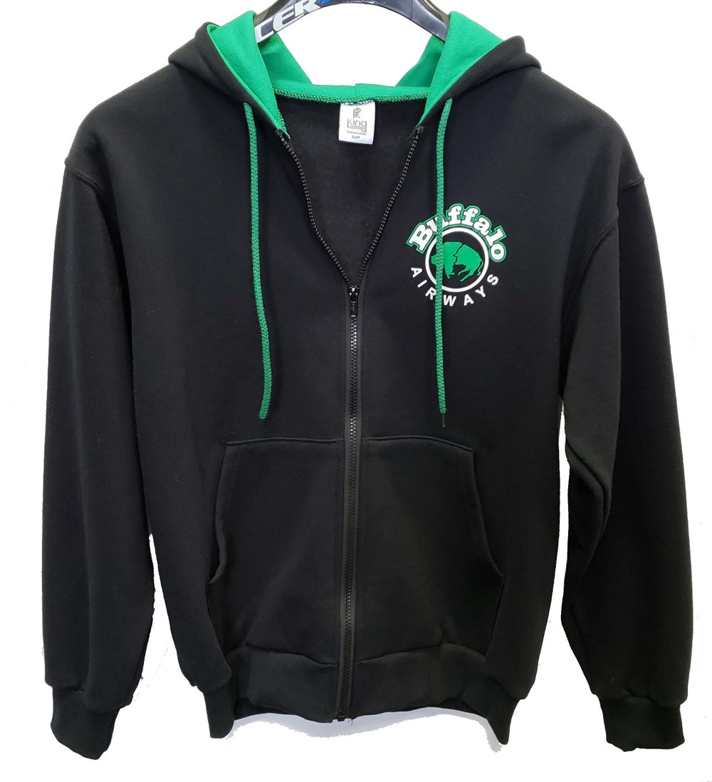 Image of Curtiss C-46 Commando Zip-Up Hoodie