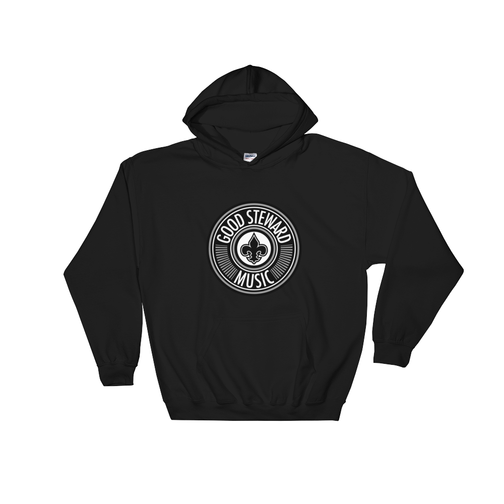 Image of Good Steward Music Hoodie (Black)