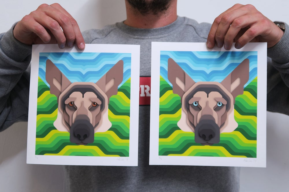 Image of K9 Portrait