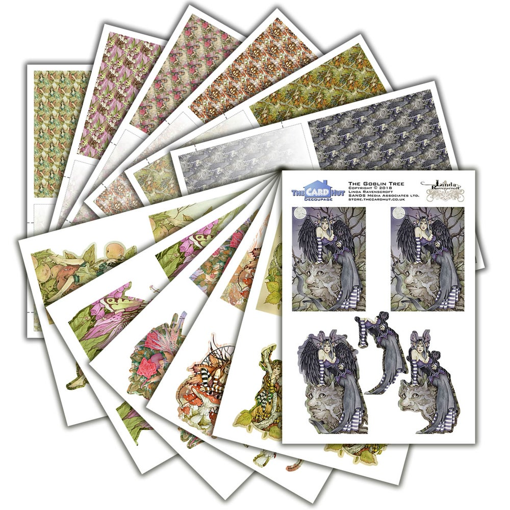 Image of Linda Ravenscroft Decoupage Collection