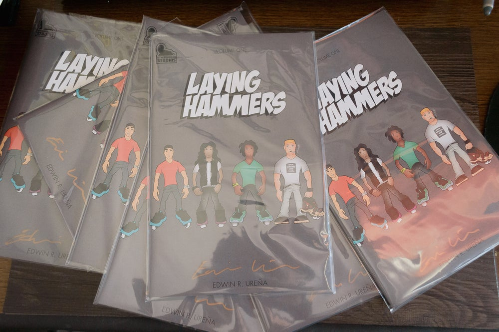 Image of Laying Hammers Volume One