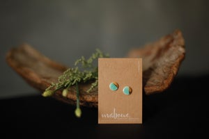 Image of Mabling // Gold on Turquoise