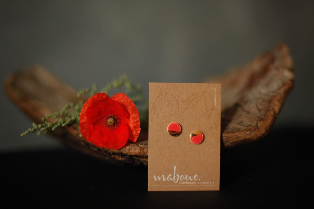 Image of Mabling // Gold on Coral