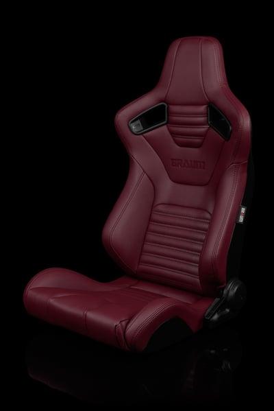 Image of Elite X Series VER. 2 - Universal BRAUM Racing Seats (Pair) Colored